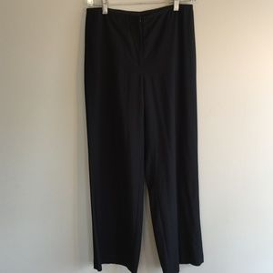Eileen Fisher Black Slacks